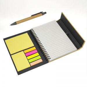 cuaderno ecológico bicolor negro