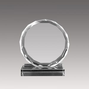 Galvano de Cristal Circular FP06 - Empresas CTM