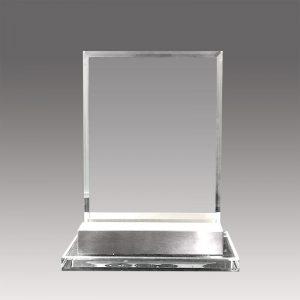 Galvano de Cristal con base XR059 - empresas CTM