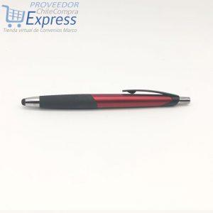 Lápiz Promocional Plástico stylus LZ225 Rojo