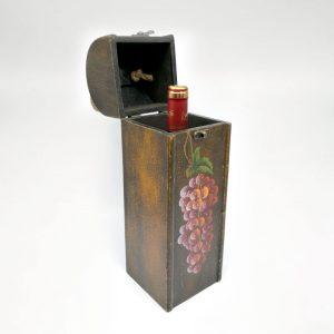 porta vino de mandera simple