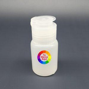 botella de alcohol gel